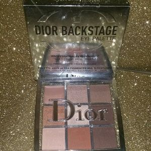 Dior Backstage Warm Neutrals